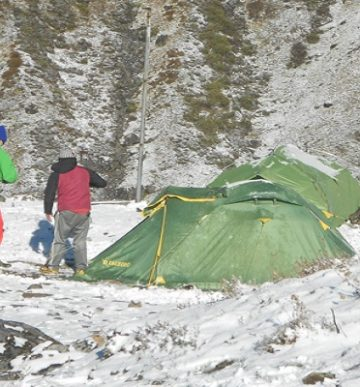 Ganesh Himal and Ruby Valley