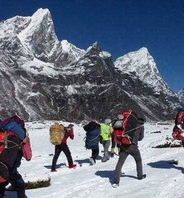 Rolwaling Tashi Labtsa Pass Trek