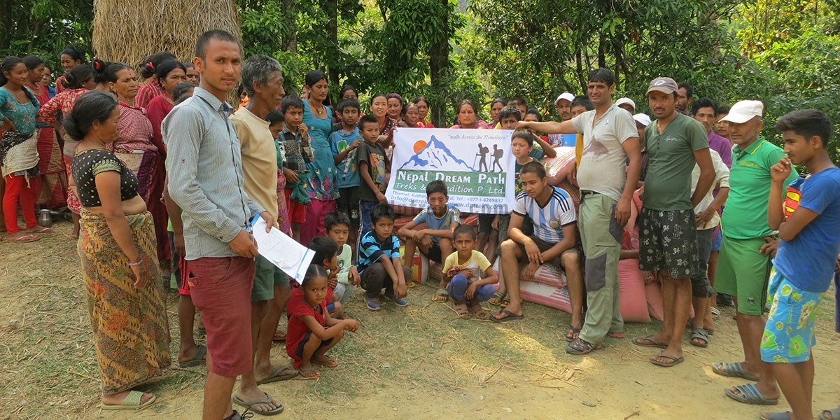 Our Helping Hands for Earthquake Real Victims