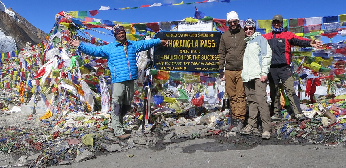 Prayer Flags in Mountains of Nepal