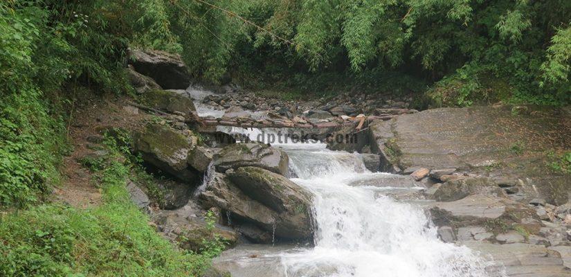 Annapurna Region Local Bridge