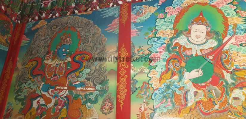 Painting at Monastery